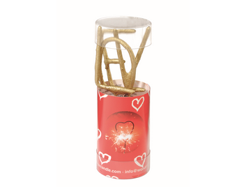 LOVE gold Wondercandle® mini 4er Set