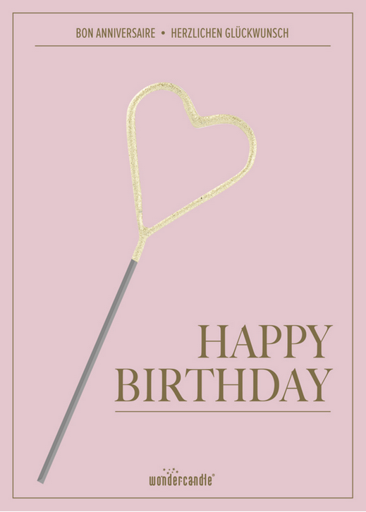 Happy Birthday Mini Wondercard®