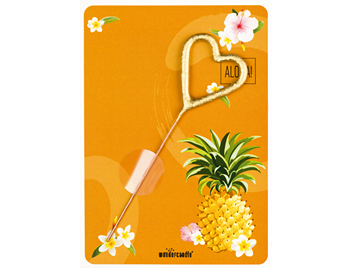Flamingo Ananas 294 Mini Wondercard® Aloha