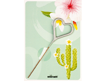 Flamingo Kaktus grün 295 Mini Wondercard®