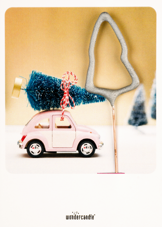 Pink car Tanne 370 Mini Wondercard®