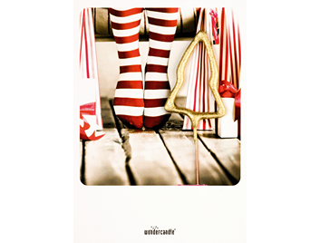 Red socks 371 Mini Wondercard®