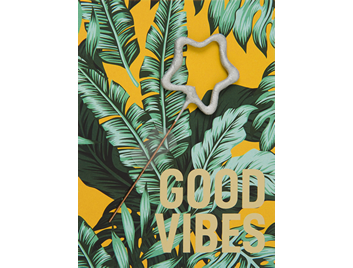 good vibes  gelb 393 Jungle Edition Mini Wondercard®