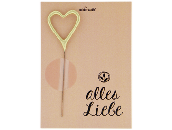 alles Liebe 465 Mini Wondercard Pastell orange