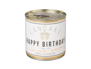 Cancake Champus Banderole Happy Birthday 486